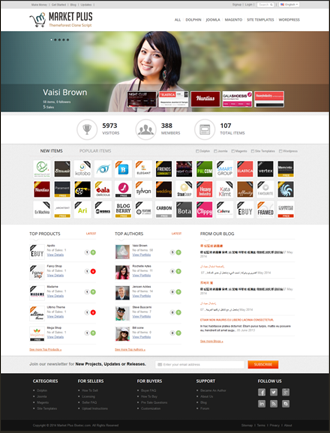 Market Plus - Buy and Download Themeforest Clone Scripts
